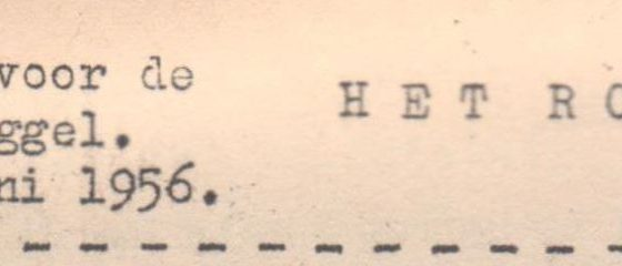Roggels Blaadje juni 1956