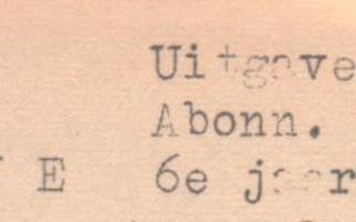 Roggelse Blaadjes oktober 1956